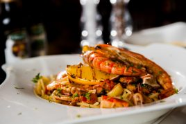 """<h5><em><span style=""""color: #808080;""""><strong>SPAGHETTI FRUTTI di MARE</strong></span></em></h5>"""